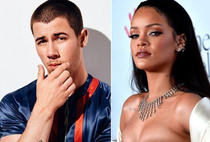 Nick Jonas levou fora da Rihanna