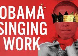 """Barack Obama agora canta """"Work"""", da Rihanna, em nova montagem"""