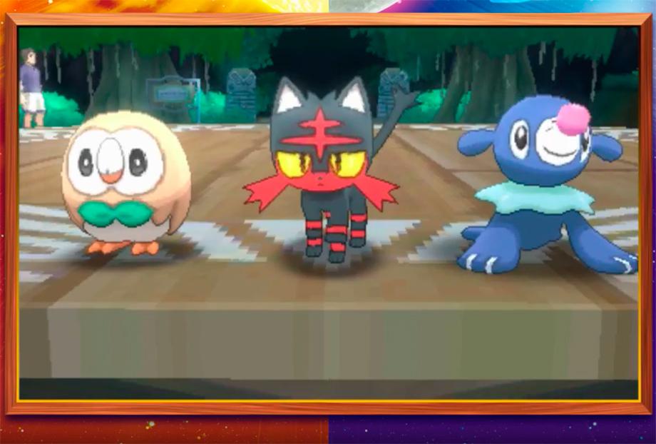 Pokémon Sun e Moon: Revelado os Iniciais, Lendários e Personagens!