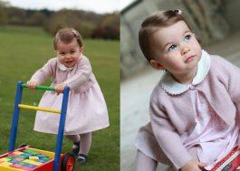 [Fotos] Princesa Charlotte e a serenidade no sorriso de quem nasceu na família real