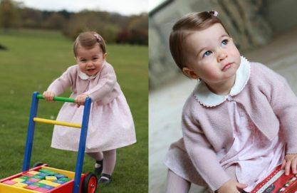 Princesa Charlotte e a fofura real