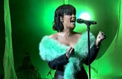 Rihanna e seu vozeirão no BMA