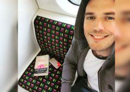 """Sam Claflin deixou cópia de """"Como Eu Era Antes de Você"""" em um trem de Londres"""