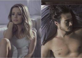 """Sandy num dueto lindo com Tiago Iorc no clipe de """"Me Espera"""""""