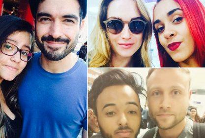 Os Sense8 estão no Brasil!