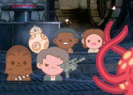 """[Vídeo] Disney reproduz história de """"Star Wars: O Despertar da Força"""" com emojis"""