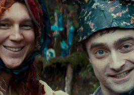 """Daniel Radcliffe aparece como morto-vivo num clipe do seu novo filme, """"Swiss Army Man"""""""