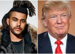The Weeknd cancela participação em programa de TV pois Donald Trump também era um dos convidados