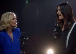 """Idina Menzel e Kristin Chenoweth fazem emocionante reunião de """"Wicked"""""""