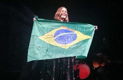 Adele trocou Brasil por Austrália