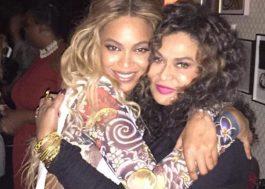 Mãe de Beyoncé se irrita com críticas à filha por ter saído ainda no início do BET Awards