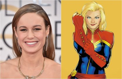 "Brie Larson será ""Capitã Marvel"""