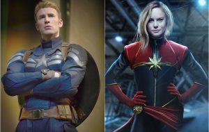"""Chris Evans apoia Brie Larson como Capitã Marvel: """"espero que isso aconteça"""""""