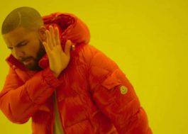 """Drake não quer seus troféus do Grammy, porque """"'Hotline Bling' não é rap"""""""
