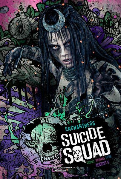 """Esquadrão Suicida"""" ganha pôsteres incríveis estilizados em HQ"""
