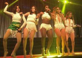 Fifth Harmony arrisca português e recebe disco de platina durante show em Porto Alegre