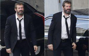 """Hugh Jackman aparece barbudo nas gravações de """"Wolverine 3"""""""