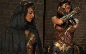 """Mulher-Maravilha de uniforme em novas imagens da versão estendida de """"Batman Vs Superman"""""""