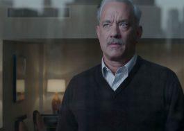 Tom Hanks em filme pavoroso sobre desastre de avião, com direção de Clint Eastwood