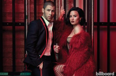 nick jonas demi lovato billboard
