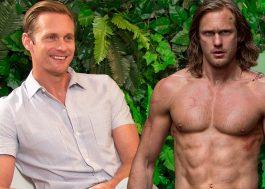 """""""Não lembro! Acho que estava bêbado"""", diz Tarzan sobre beijo no Christoph Waltz"""