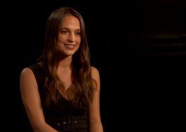"""Alicia Vikander diz que novo """"Tomb Raider"""" vai ser uma história de origem"""
