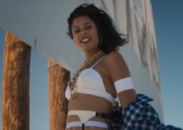 "AlunaGeorge poderosíssima no clipe de ""Mean What I Mean"""