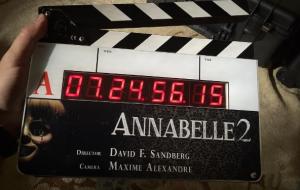 """Já começaram as filmagens de """"Annabelle 2"""" em Los Angeles!!!"""