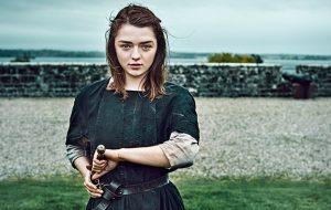 """Maisie Williams sobre Arya em """"Game of Thrones"""": """"Eu acredito que ela esteja melhor sozinha"""""""