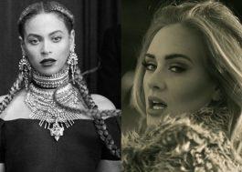 Beyoncé e Adele lideram indicações ao VMA 2016