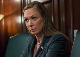 """Elizabeth Marvel não foi presidente em """"House of Cards"""" mas será em """"Homeland"""""""