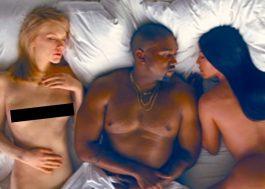 """Kanye West libera o clipe polêmico de """"Famous"""" no YouTube"""