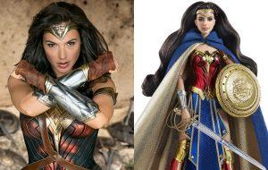 Gal Gadot está apaixonada pela Barbie da Mulher-Maravilha (e nós também!)