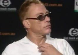 Jean-Claude Van Damme se irrita e abandona entrevista ao ser perguntado sobre Kylie Minogue