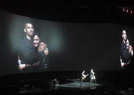 """Demi Lovato, Joe e Nick Jonas fazem reunião de """"Camp Rock"""" em show"""