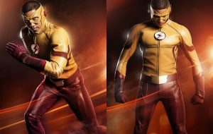 """The Flash"": visual de Kid Flash é revelado em fotos da terceira temporada"
