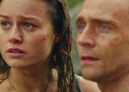 """Tom Hiddleston e Brie Larson ficam cara a cara com monstro em trailer de """"Kong: A Ilha da Caveira"""""""