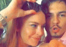 Lindsay Lohan pretende continuar com o noivo contanto que ele faça terapia