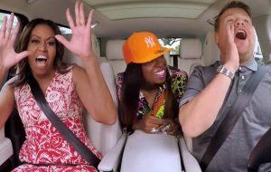 """Michelle Obama canta e faz rap com a Missy Elliott no mais novo """"Carpool Karaoke"""""""