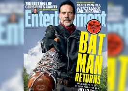 "Negan está pronto para dominar ""The Walking Dead"" na capa da EW"
