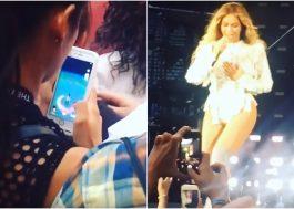 Rihanna não quer que você capture Pokémons durante o show dela, tá? No da Beyoncé teve gente fazendo isso…
