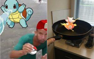 """""""Pokémon Go"""" é lançado mundialmente e vira meme nas redes sociais brasileiras"""