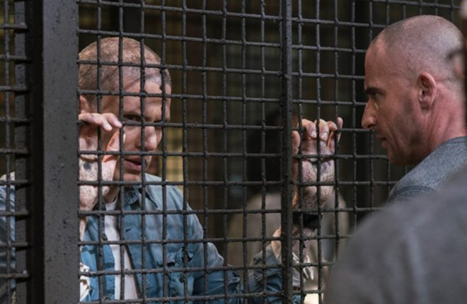 Prison Break Season 1, Episode 5 Air Date; 2017 L-R: Wentworth Miller and Dominic Purcell†