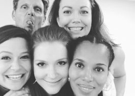 """Elenco de """"Scandal"""" enfim se encontra para a 6ª temporada!"""