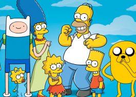 """Crossover de """"Os Simpsons"""" com """"Hora de Aventura""""? Sim, vai rolar!"""