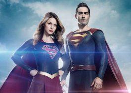Tyler Hoechlin aparece pela primeira vez de Superman ao lado da Supergirl