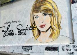 """Artista diz ter recebido ameaça de processo de Taylor Swift após pintar mural """"zoeiro"""" na Austrália"""