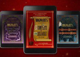 """J.K. Rowling vai lançar três novos e-books baseados em """"Harry Potter"""""""