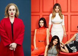 Hoje não, Faro! Adele teria recusado convite de jantar com as Kardashians