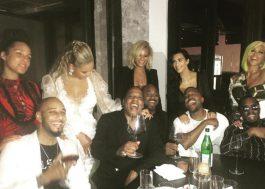 Jay Z, Beyoncé, Kanye West, Kim Kardashian e outros artistas saem juntos depois do VMA